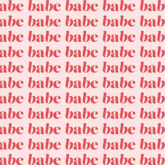 Babe Graphic design